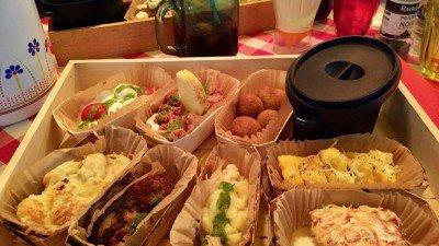 Co jeść w Nicei? Tapasy regionalne w Chez Mêmêre.