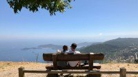 Punkt widokowy na wzgórzach nad Eze, Lazurowe Wybrzeże