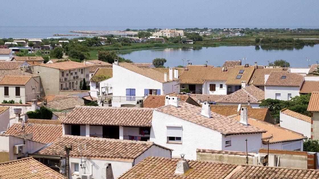 Miejscowość nadmorska Saintes-Maries-de-la-Mer, Camarque