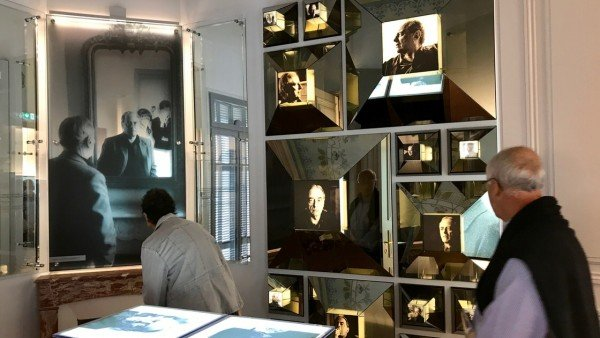 Ekspozycja w Muzeum Gombrowicza w Vence