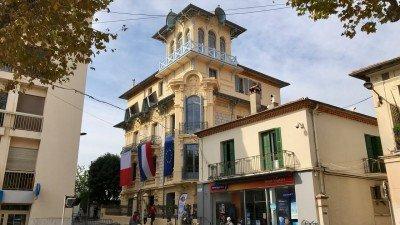 Villa Alexandrine, w której mieści się Muzeum Gombrowicza w Vence