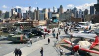 Intrepid - lotniskowiec muzeum w Nowym Jorku