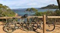 Wyspa Porquerolles leży niedaleko miasteczka Hyeres, Lazurowe Wybrzeże