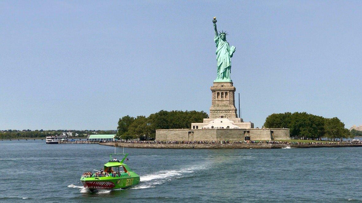Statua Wolności na Liberty Island, Nowy Jork