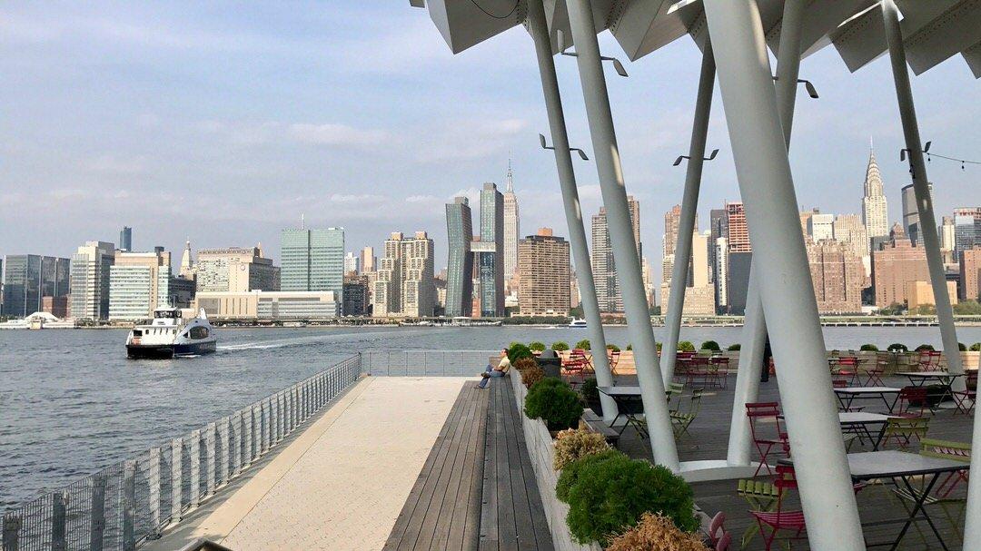 Panorama Nowego Jorku z Queens