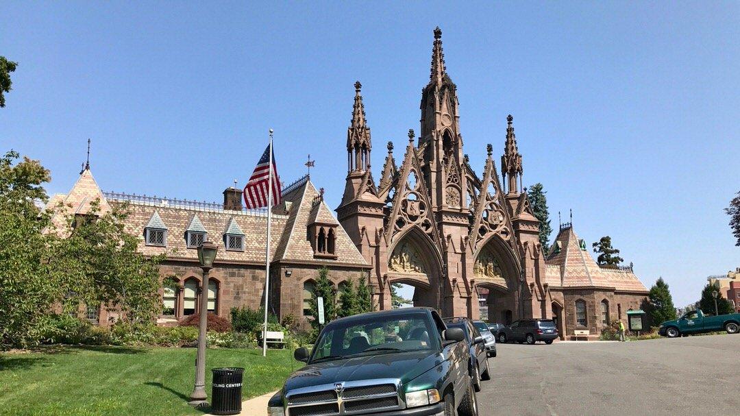 Brama cmentarza Green-Wood, Brooklyn