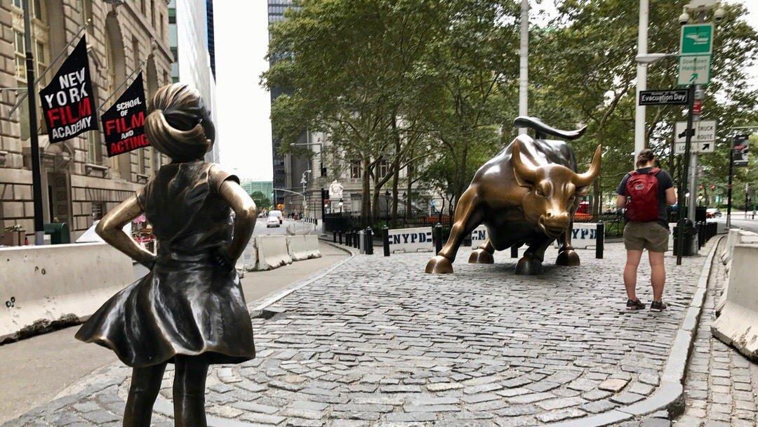 Byk z Wall Street (Charging Bull), Manhattan
