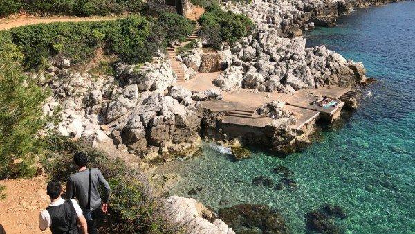 Wędrówka brzegiem Cap-Ferrat