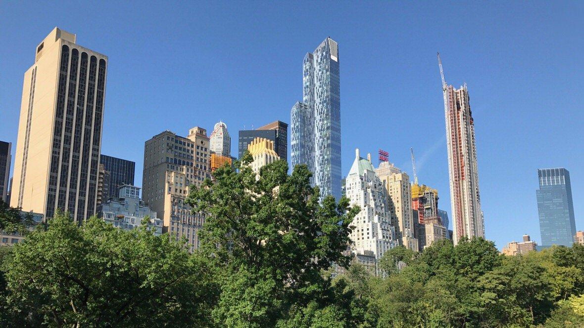 Manhattan z Central Parku