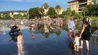 Fontanna dla dzieci w Nicei przy Placu Massena, Lazurowe Wybrzeże