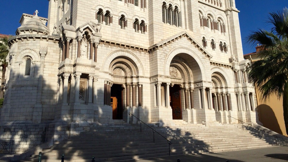 Katedra w Monako na Starym Mieście