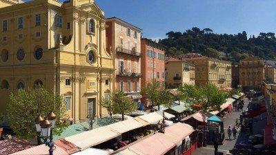 Targowisko Cours Saleya, Stare Miasto w Nicei