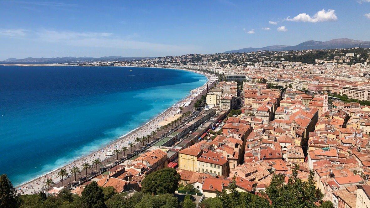Wzgórze Zamkowe w Nicei zapewnia najpiękniejsze widoki na Niceę!