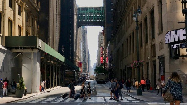 Zwiedzanie Nowego Jorku