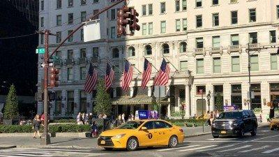 Hotele Nowy Jork: The Plaza to jeden z kultowych hoteli w mieście