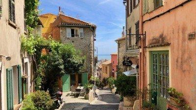 Stare Miasto w Cagnes-sur-Mer