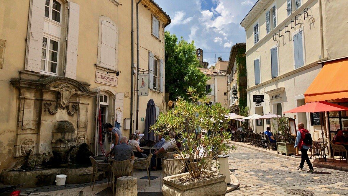 Lourmarin, prowansalskie miasteczko, w którym mieszkał Albert Camus