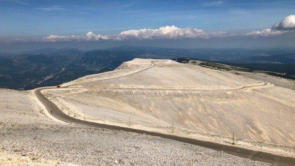 Mont Ventoux, najwyższy szczyt Prowansji