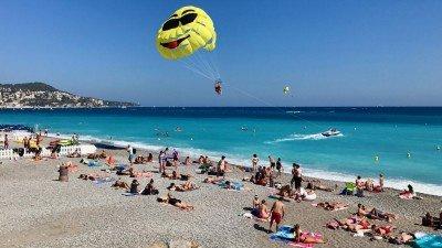 Plaża w Nicei, Lazurowe Wybrzeże