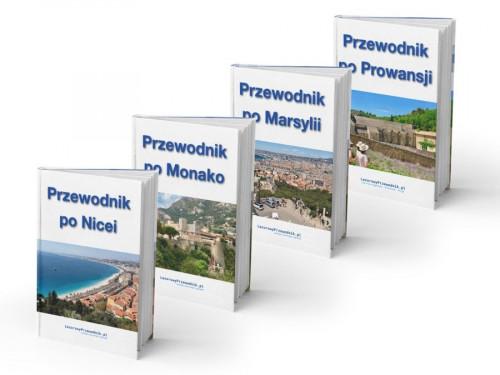 Pakiet przewodników ebook w PDF: Lazurowe Wybrzeże i Prowansja