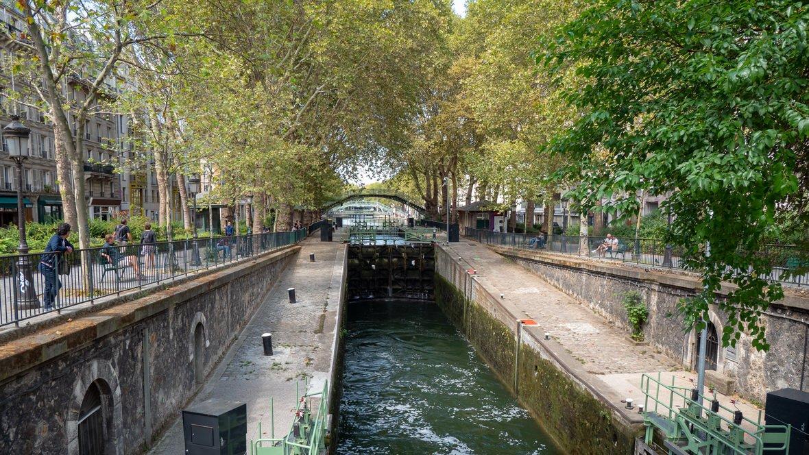 Kanał św. Marcina, Paryż
