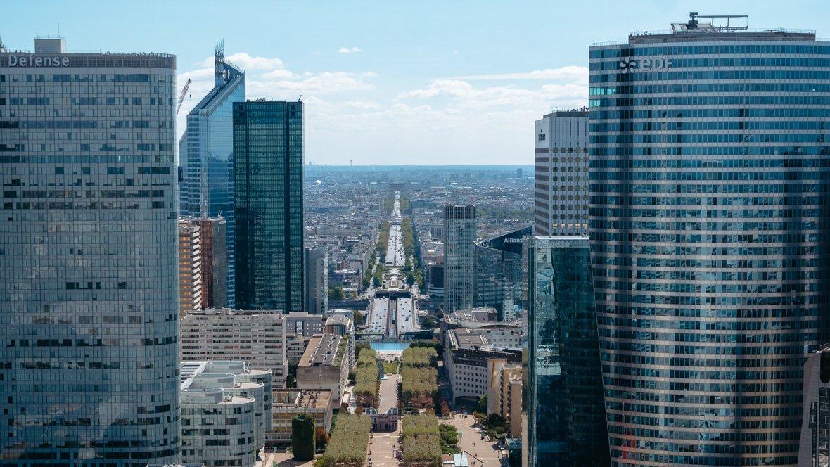 La Defense, biznesowa dzielnica Paryża
