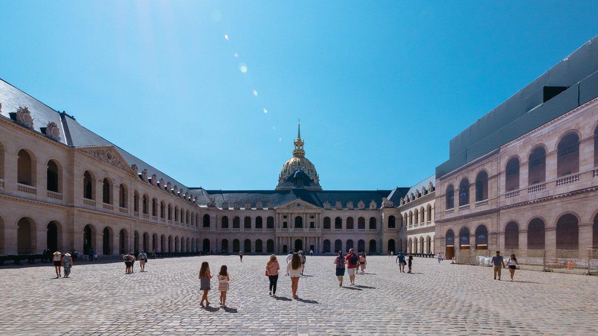 Pałac Inwalidów w Paryżu