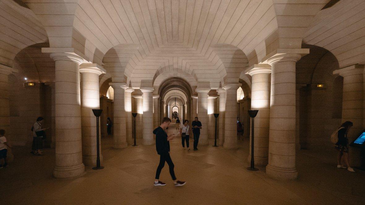 Krypta pod Panteonem w Paryżu
