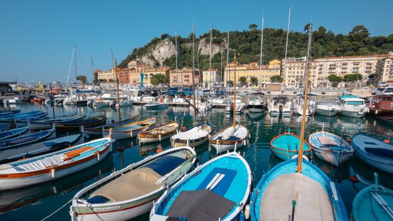Stary Port w Nicei