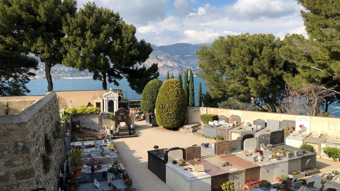 Cmentarz na Cap Ferrat