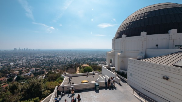 Panorama Los Angeles z Griffith Observatory