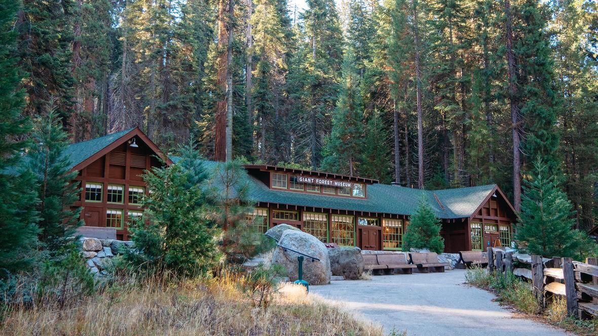 Giant Forest Museum, Park Narodowy Sekwoi, Kalifornia