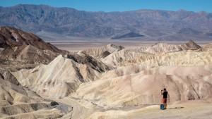 Zabriskie Point, Dolina Śmierci (Death Valley), USA