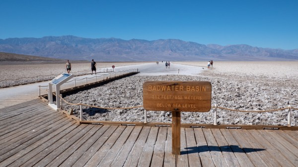 Badwater Basin, Dolina Śmierci (Death Valley), USA