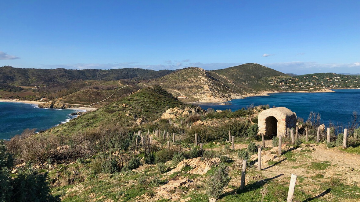 Widok z góry Cap Taillat