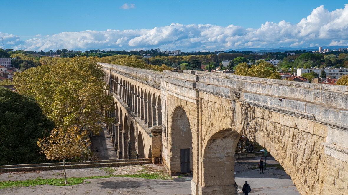 Akwedukt Saint-Clément w Montpellier