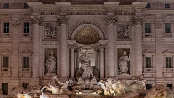 Fontanna di Trevi, Rzym