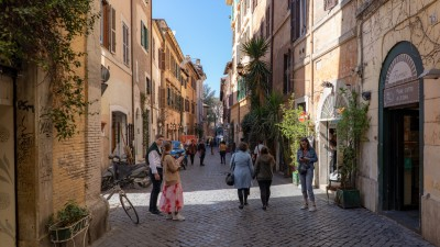 Zatybrze, Rzym