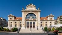 Gare du Sud, hala z jedzeniem w Nicei
