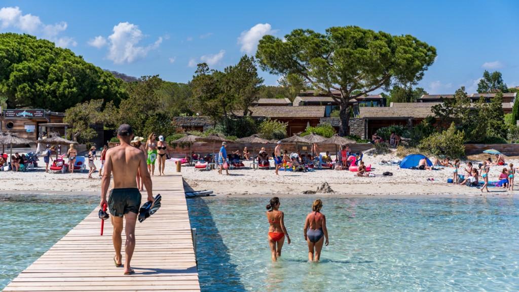 Plaża Santa Giulia, Korsyka