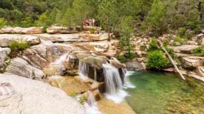 Rzeka w górach, Korsyka