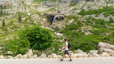 Wąwóz Restonica niedaleko Corte, Korsyka