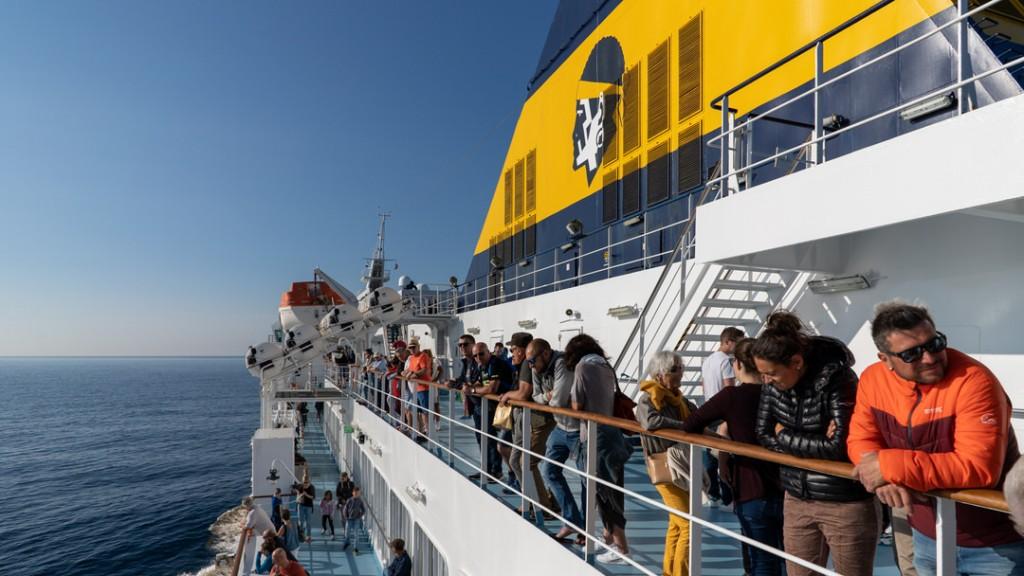 Prom na Korsykę (Corsica Ferries)