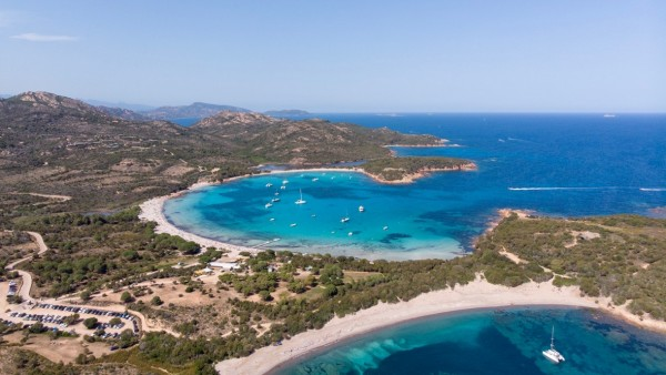 Plaża Rondinara na Korsyce