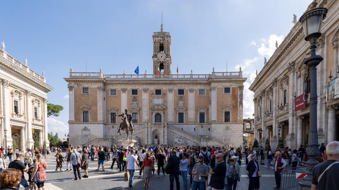 Plac Kapitoliński w Rzymie