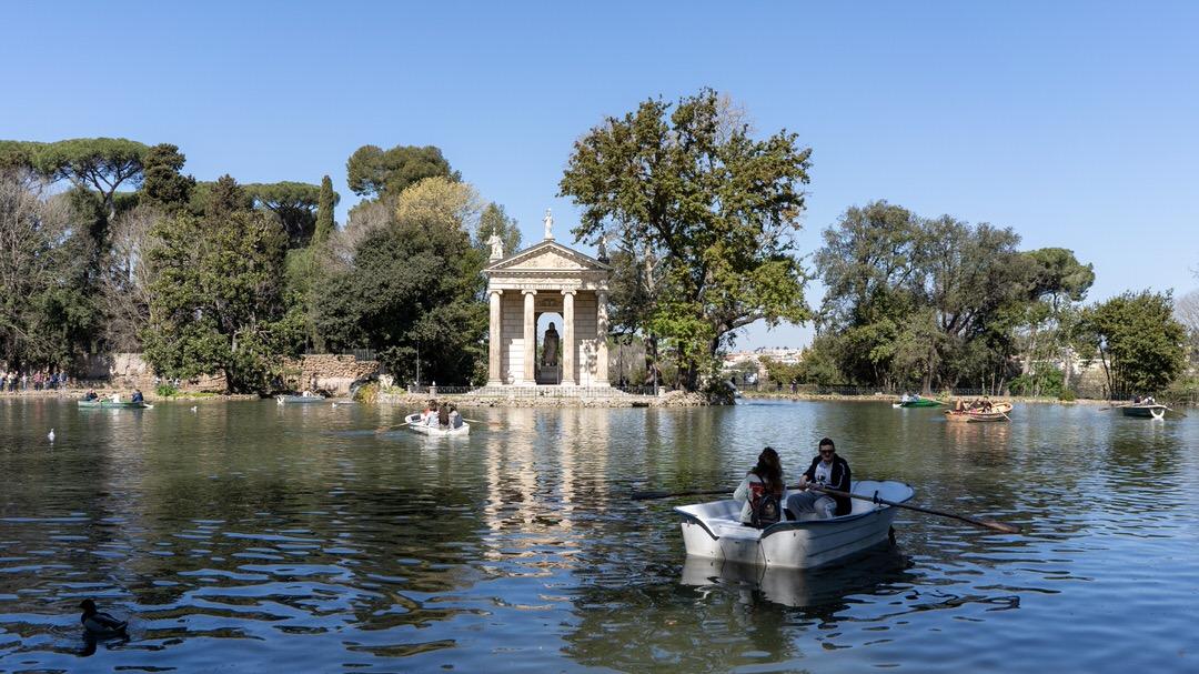 Ogrody Borghese, Rzym