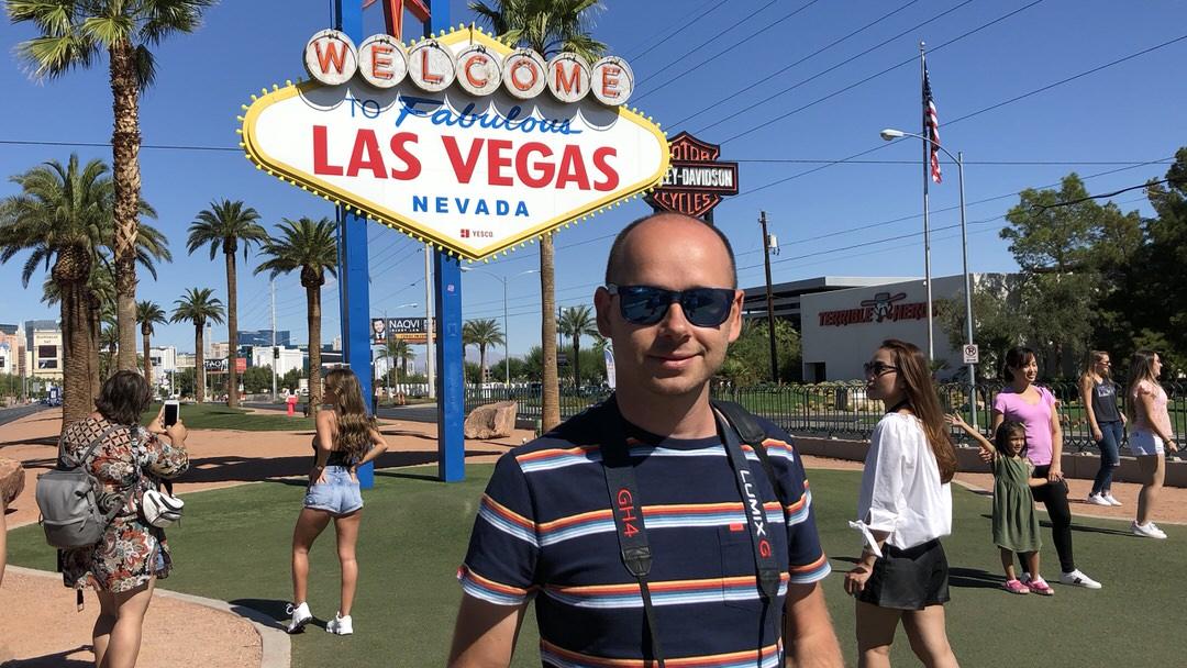 Las Vegas także można odwiedzić jadąc bez wizy do USA!