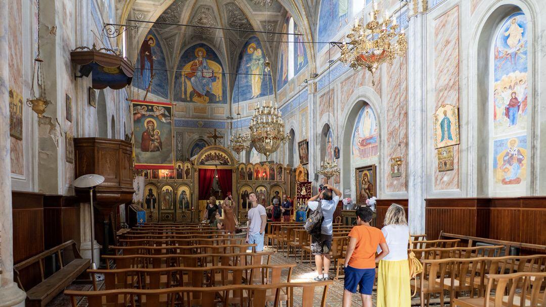 Kościół greckokatolicki w Cargese